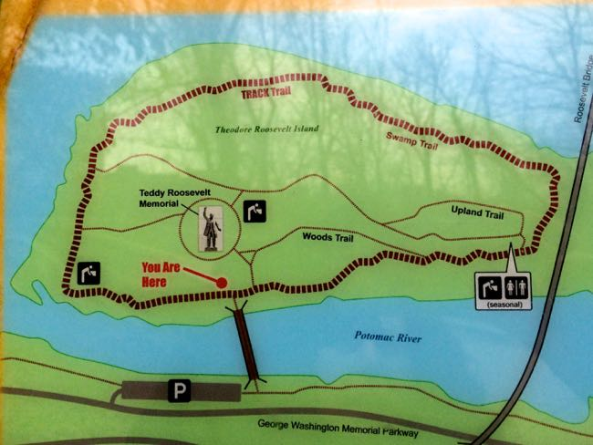 Roosevelt Island Dc Map