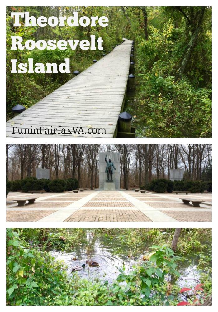 Theodore Roosevelt Island Collage