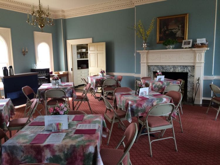 Nellys Tea Room at Woodlawn Needlework Exhibition
