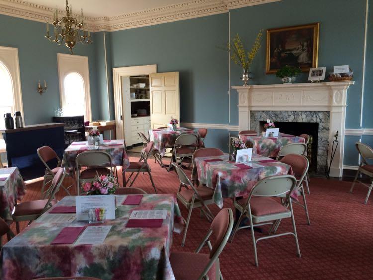 Nellys Tea Room at Woodlawn Needlework Exhibition