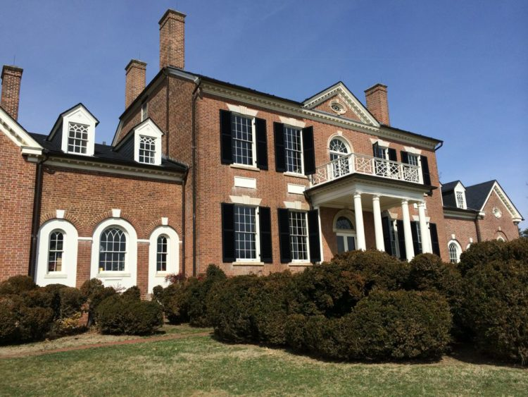 Woodlawn historic house in Alexandria VA