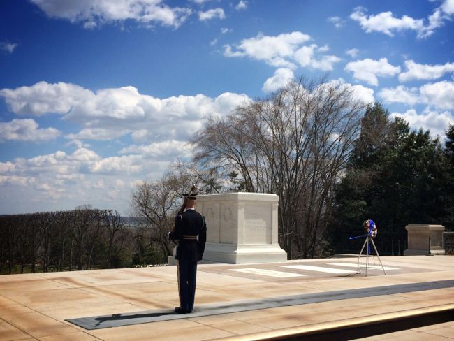 Arlington Cemetery Tomb of the Unknown