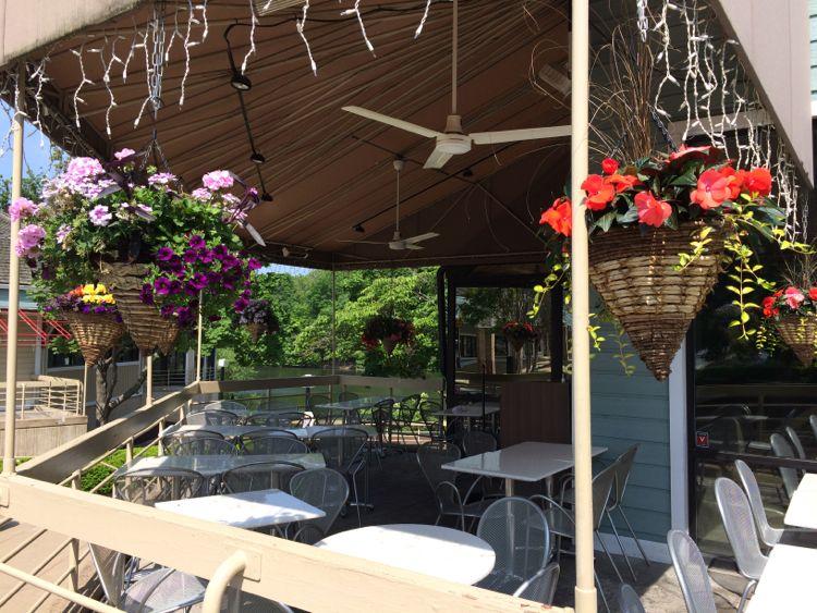 Cafesano patio, Reston VA