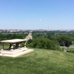 DC view from Arlington National Cemetery