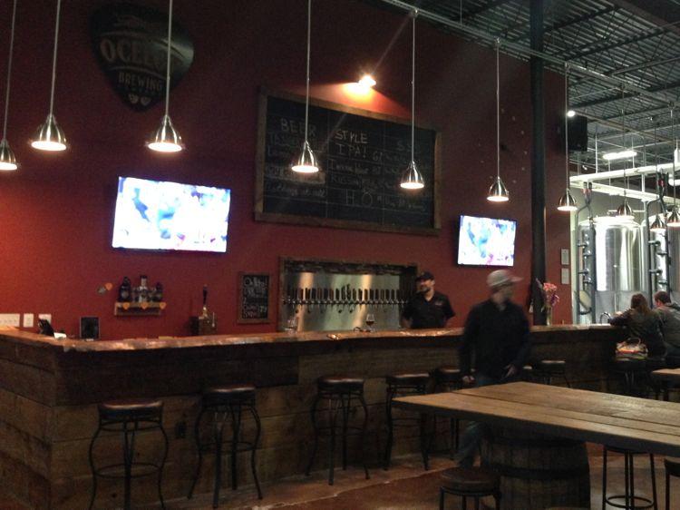 Ocelot Brewing bar