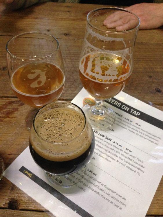 Ocelot Brewing beers