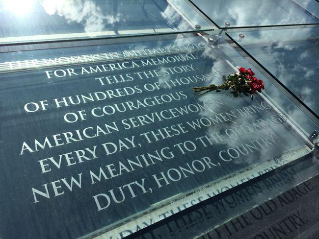 Roof of Womens Memorial