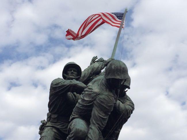 US Marine Corp Memorial in Arlington VA