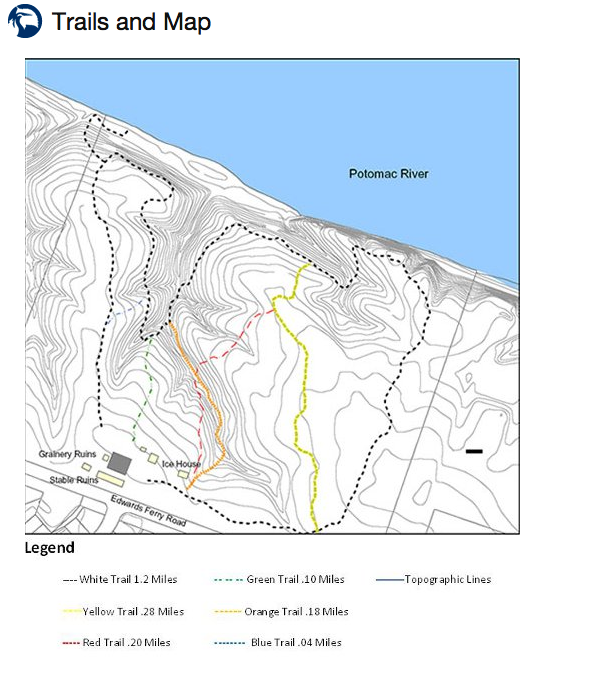 Red Rocks Overlook trail map