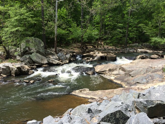 Outdoor summer fun includes cool stream-side hikes