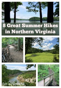 Virginia / DC hiking and travel. 8 great summer hikes in Northern Virginia near Washington DC