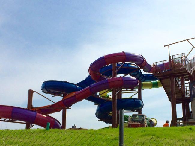 New slide Lake Fairfax Park