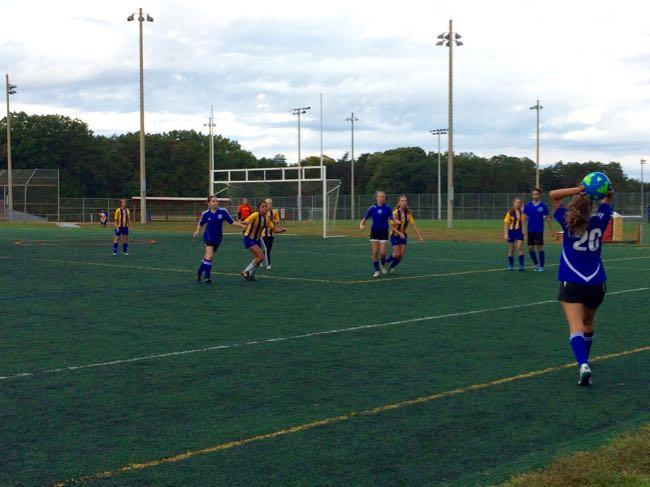 Soccer at Lake Fairfax Park