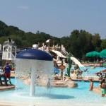 Water Mine slides Lake Fairfax Park