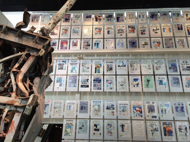 9/11 Gallery Newseum