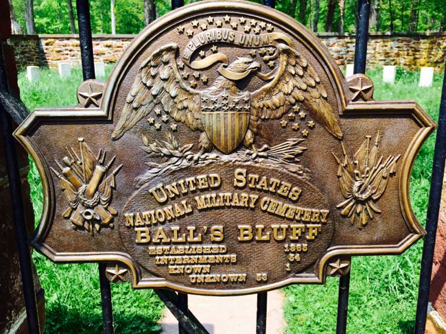 Balls Bluff Battlefield National Cemetery emblem
