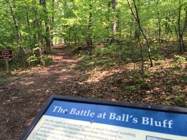 Balls Bluff Battlefield Trail
