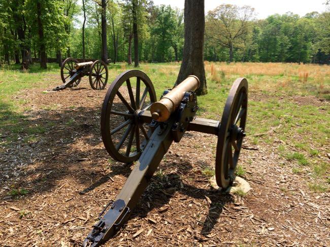 Cannons Balls Bluff Battlefield