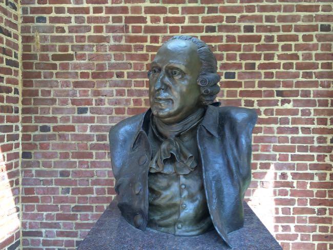 George Mason bronze Gunston Hall