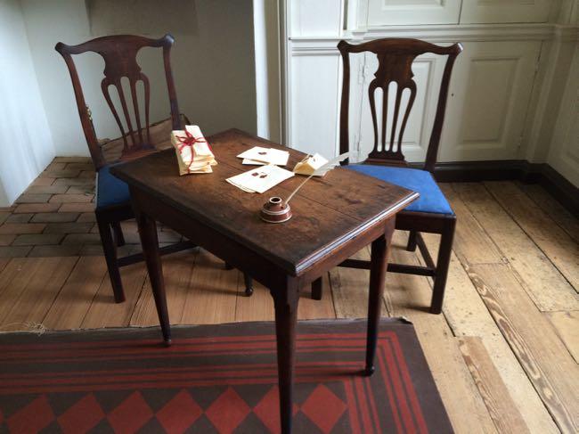 George Mason desk Gunston Hall