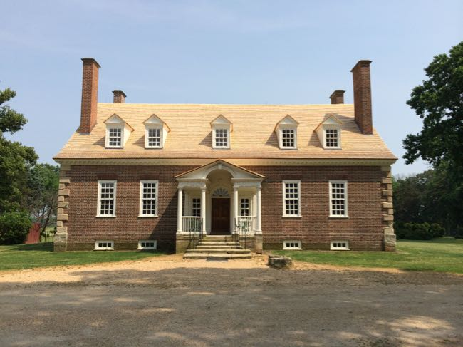 Gunston Hall, home of Founding Father George Mason in Lorton VA