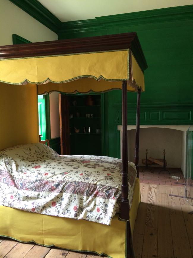 Master bedroom Gunston Hall