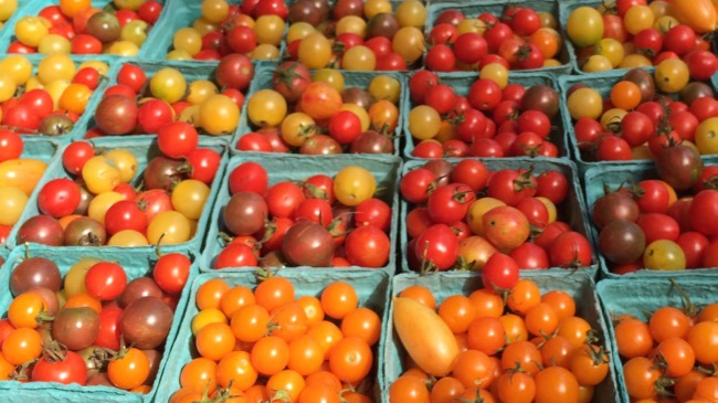 Tomatoes are a favorite at Northern Virginia Farmers Markets
