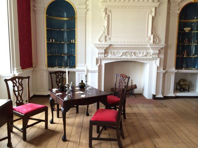 Palladian Room table Gunston Hall