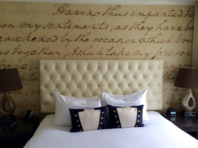 Room at Hotel George Washington DC