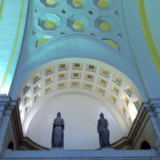 Union Station statues Washington DC
