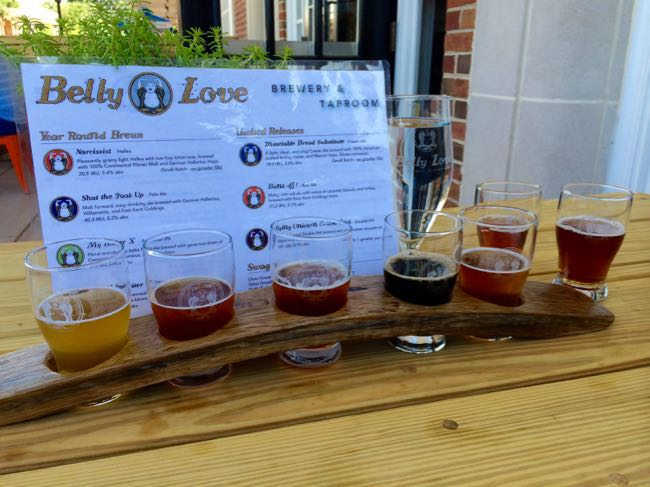 Belly Love Brewery, Purcellville Virginia