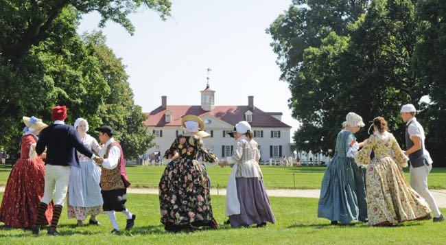 The Colonial Market Fair at Mount Vernon is one of our favorite September events in Northern Virginia.