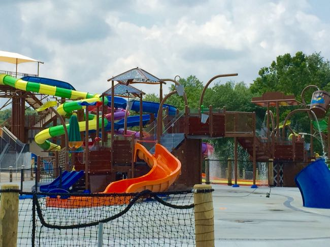 New Watermine slides Lake Fairfax
