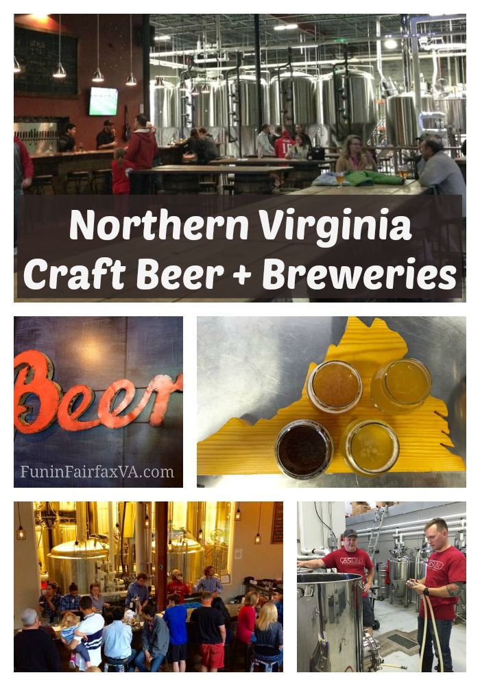 Here's a sample of Northern Virginia taprooms worth a visit, where local brewers offer a changing menu of delicious Virginia craft beer to enjoy.