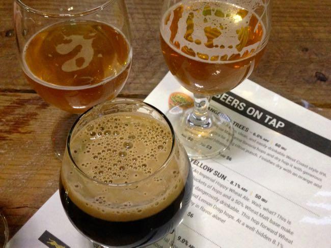 Ocelot Brewing beer