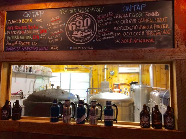 Old 690 Brewing Co beer list