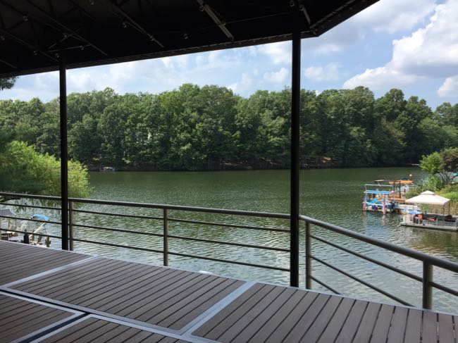 Red's Table lake view Reston
