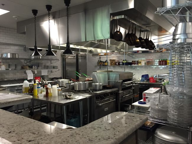 Red's Table open kitchen Reston
