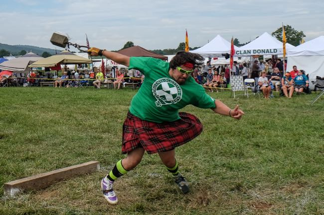 Virginia Scottish Games in The Plains