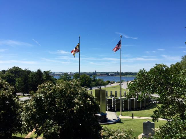 Severn Memorial view Annapolis
