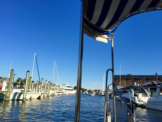Harbor taxi view Annapolis
