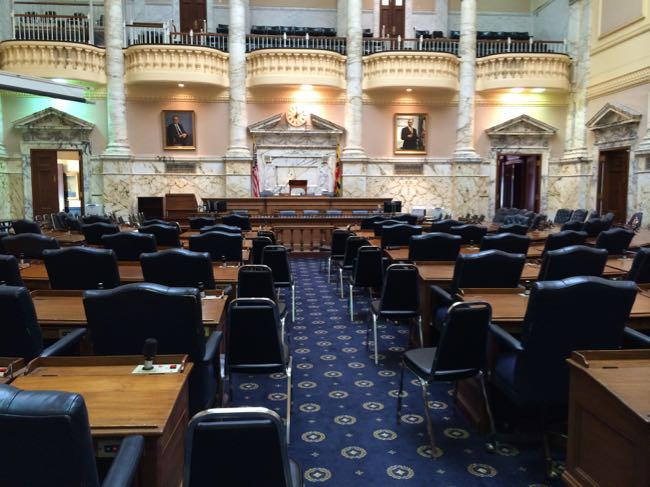 Maryland State House chambers