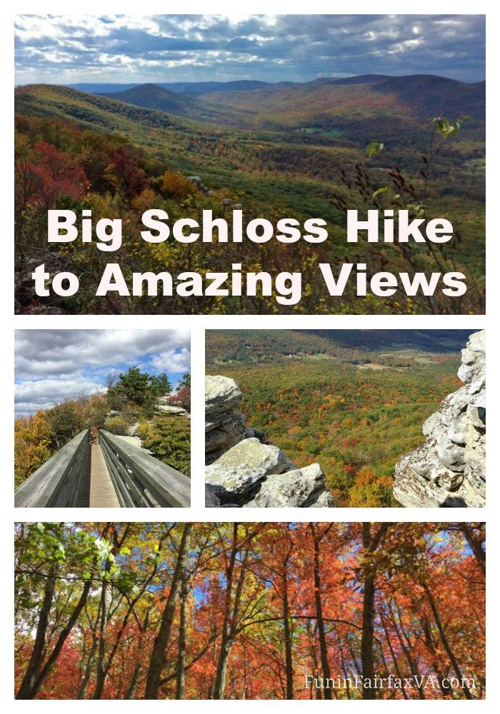 This hike on the Virginia/West Virginia border requires extra effort, but the panoramic views from the summit of Big Schloss Mountain are worth the effort.