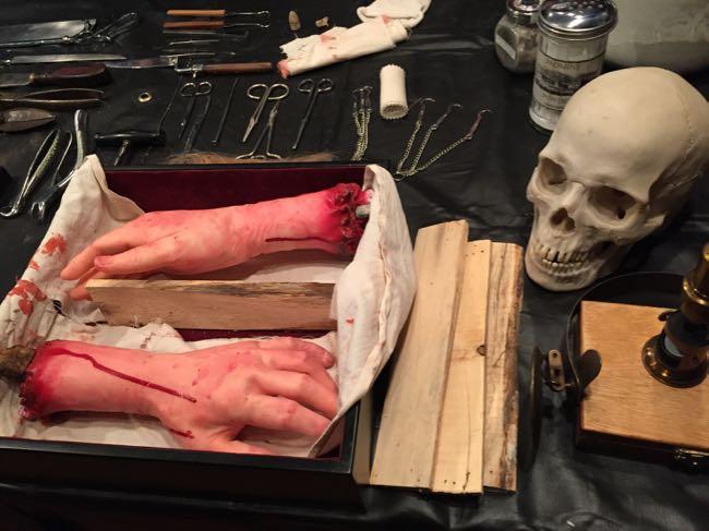 Civil War surgery 2 Weems-Botts Museum Dumfries