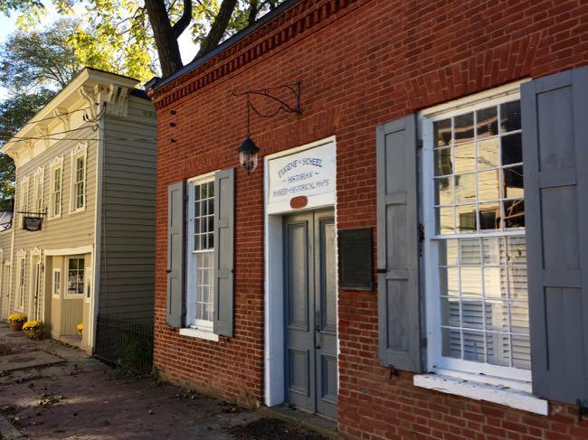 Historic buildings Waterford Virginia