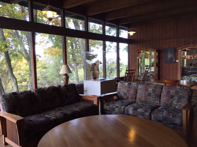 Skyland Lodge interior, Shenandoah National Park