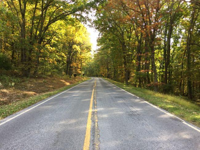 Take a scenic drive on Skyline Drive in Shenandoah National Park Virginia