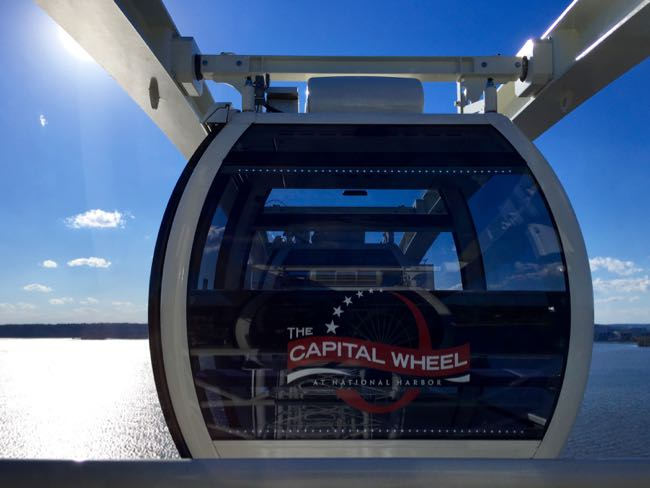 Capital Wheel car National Harbor