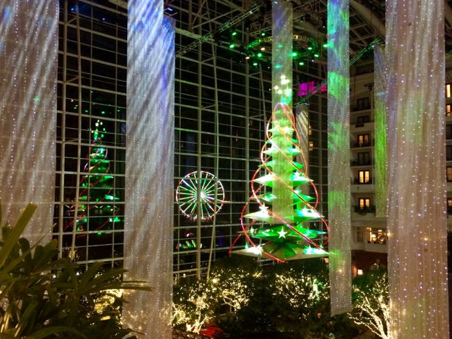 Christmas tree and Capital Wheel Gaylord NH