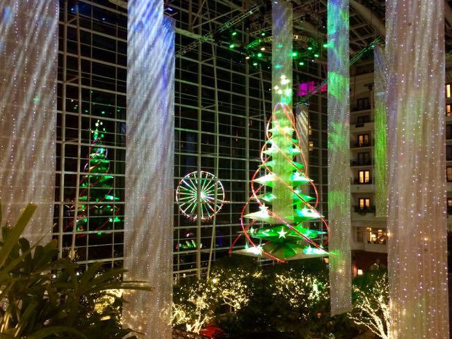 Christmas tree and Capital Wheel Gaylord NH